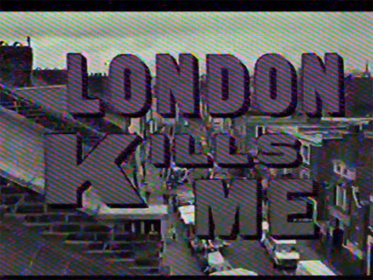 Mark Leckey and Cabinet, London Mark Leckey Dream English Kid, 1964 - 1999 AD,2015, 4:3 film, 5.1 surround sound, 23 minutes A Mark Leckey film in association with Film London Artists' Moving Image Network and Arts Council England