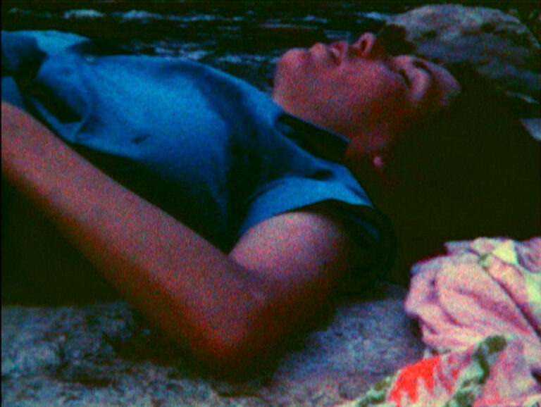 Still from Trip to Carolee (1974), Coleen Fitzgibbon