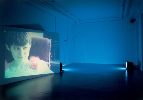Margaret Again, installed at IMMA as part of Glen Dimplex exhibition, 1996, IMMA Archive