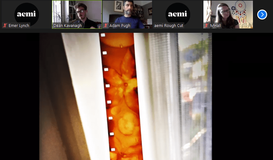 aemi Rough Cut session – July 2020 - image courtesy Dean Kavanagh